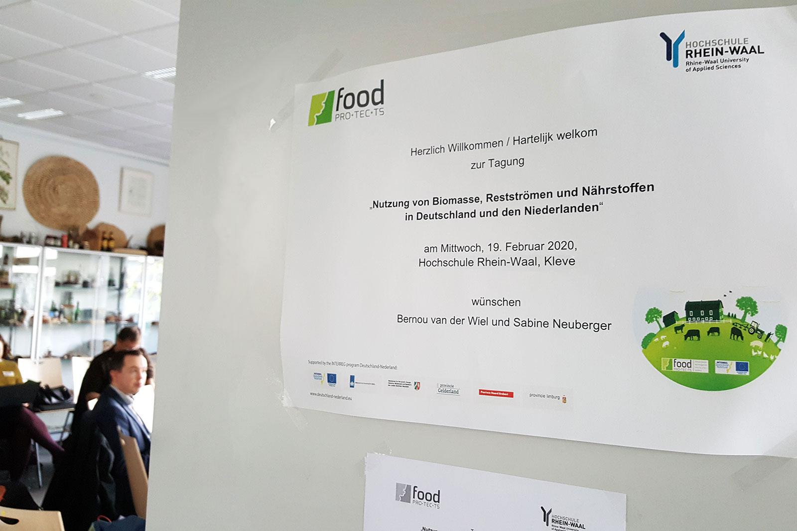 Biomassa-symposium aan de Hogeschool Rijn-Waal in Kleef